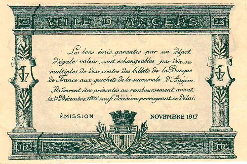 Billets du xx me si cle les billets des chambres de commerce - Chambre de commerce auch ...