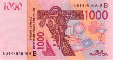 Billets D Afrique Les Etats De L Afrique De L Ouest