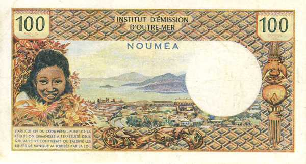 billet de banque noumea